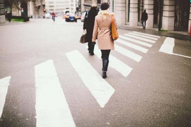 Диагональный пешеходный переход в Филевском парке обозначат пунктирными линиями